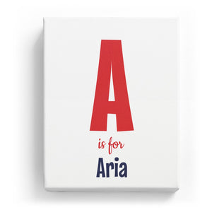 A is for Aria - Cartoony