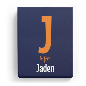J is for Jaden - Cartoony