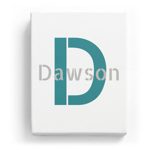 Dawson Overlaid on D - Stylistic
