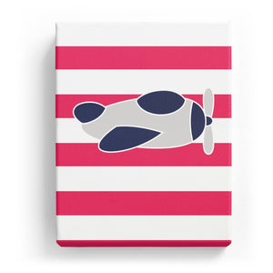 Plane with Stripes