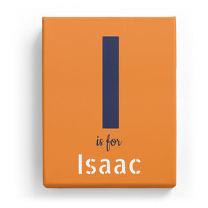 I is for Isaac - Stylistic