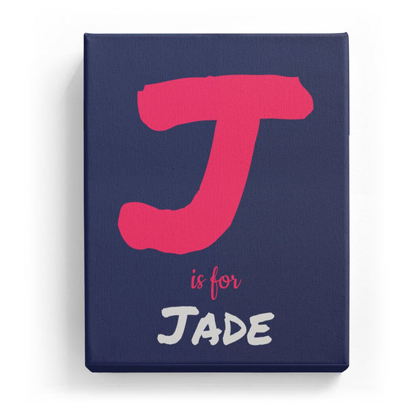 J is for Jade - Artistic