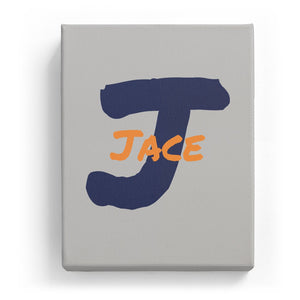Jace Overlaid on J - Artistic