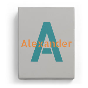 Alexander Overlaid on A - Stylistic
