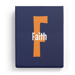 Faith Overlaid on F - Cartoony