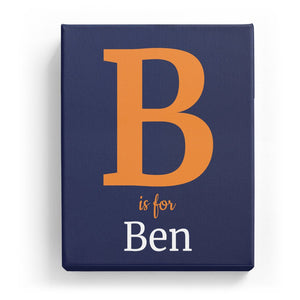 B is for Ben - Classic