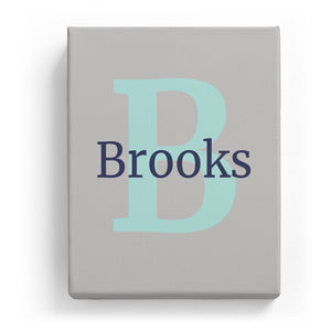Brooks Overlaid on B - Classic