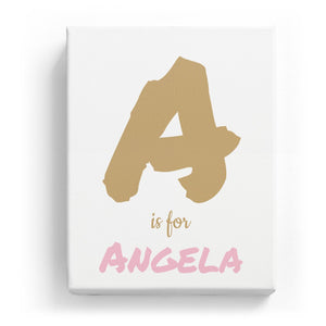 A is for Angela - Artistic