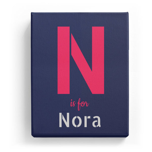 N is for Nora - Stylistic