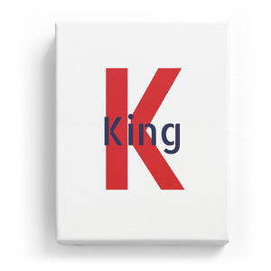 King Overlaid on K - Stylistic