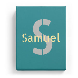 Samuel Overlaid on S - Stylistic
