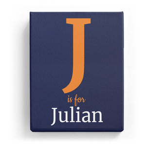 J is for Julian - Classic