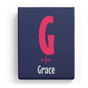 G is for Grace - Cartoony