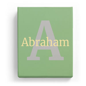 Abraham Overlaid on A - Classic