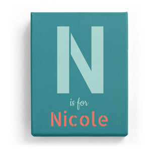 N is for Nicole - Stylistic