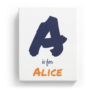 A is for Alice - Artistic