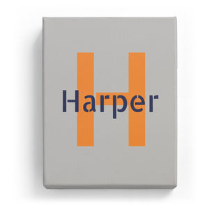 Harper Overlaid on H - Stylistic