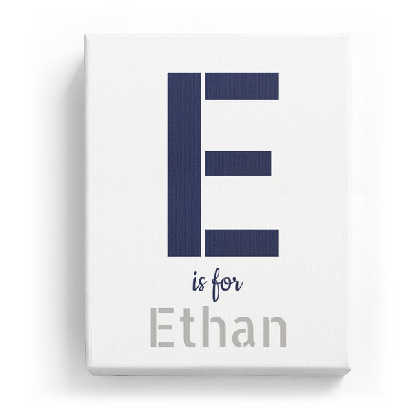 E is for Ethan - Stylistic