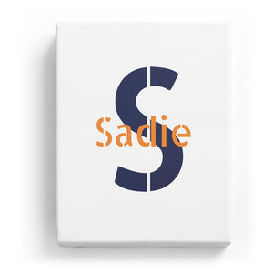 Sadie Overlaid on S - Stylistic