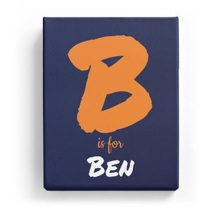 B is for Ben - Artistic