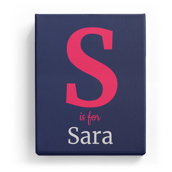 S is for Sara - Classic