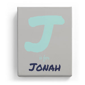 J is for Jonah - Artistic