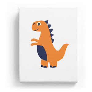 Walking Dinosaur - No Background (Mirror Image)