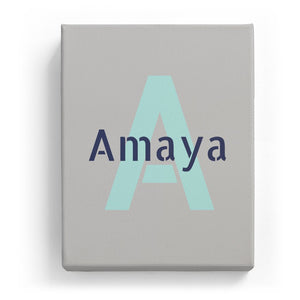Amaya Overlaid on A - Stylistic