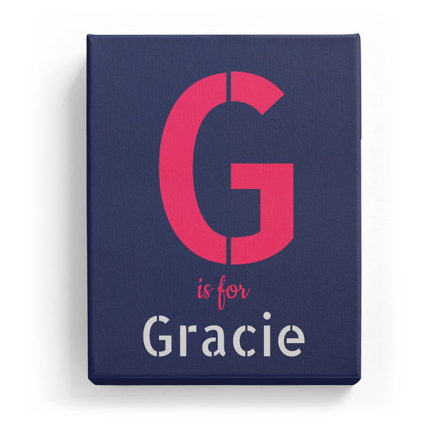 G is for Gracie - Stylistic