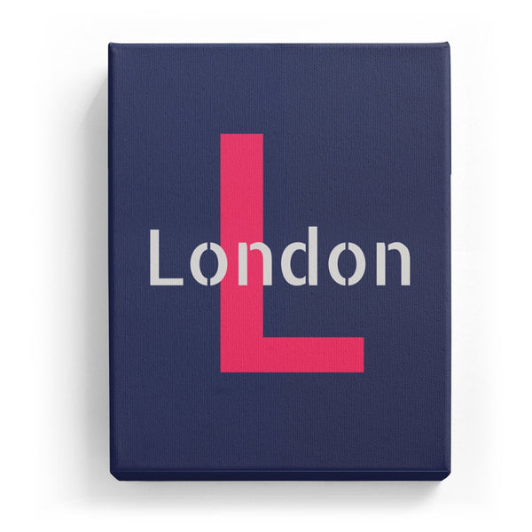 London Overlaid on L - Stylistic