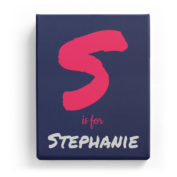 S is for Stephanie - Artistic