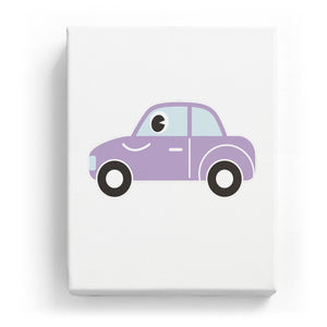 Car with a Face - No Background (Mirror Image)