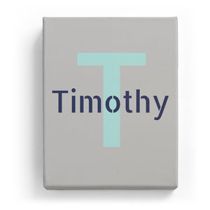 Timothy Overlaid on T - Stylistic