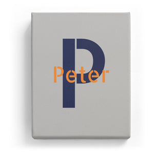 Peter Overlaid on P - Stylistic