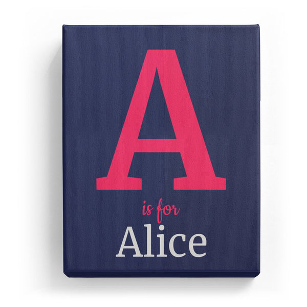 A is for Alice - Classic