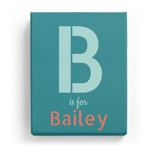 B is for Bailey - Stylistic