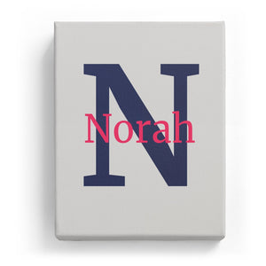 Norah Overlaid on N - Classic