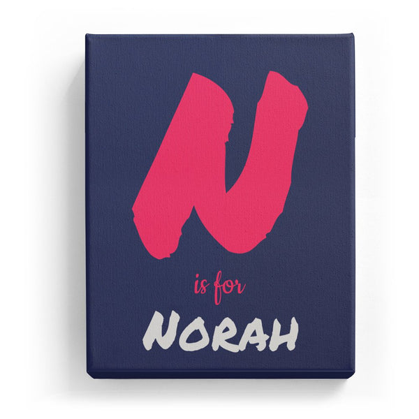 N is for Norah - Artistic