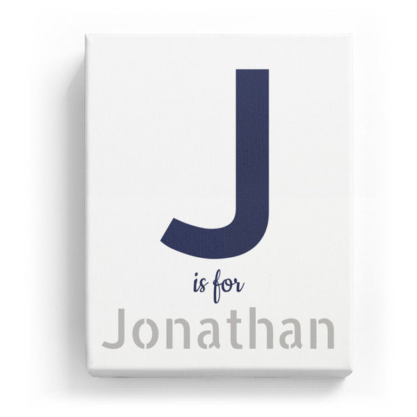 J is for Jonathan - Stylistic
