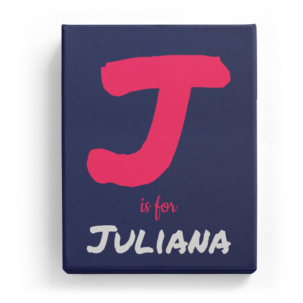 J is for Juliana - Artistic