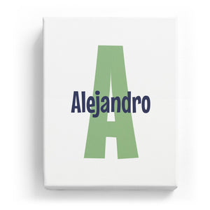 Alejandro Overlaid on A - Cartoony