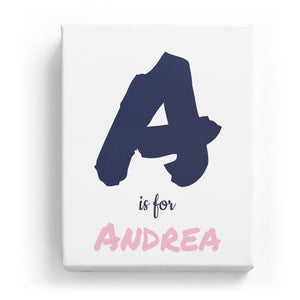 A is for Andrea - Artistic