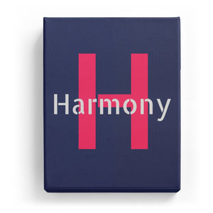 Harmony Overlaid on H - Stylistic