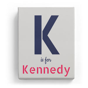 K is for Kennedy - Stylistic