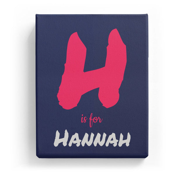 H is for Hannah - Artistic