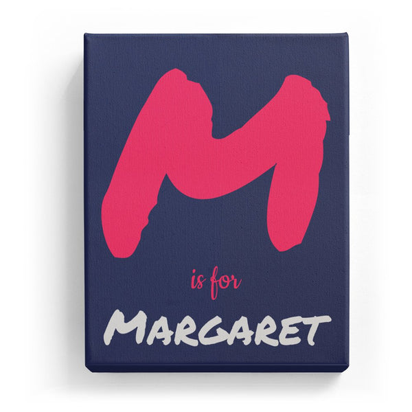 M is for Margaret - Artistic