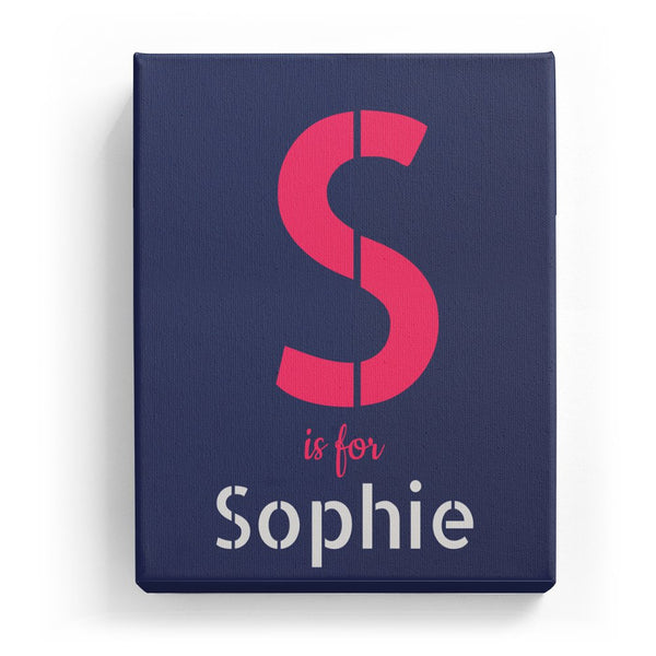 S is for Sophie - Stylistic