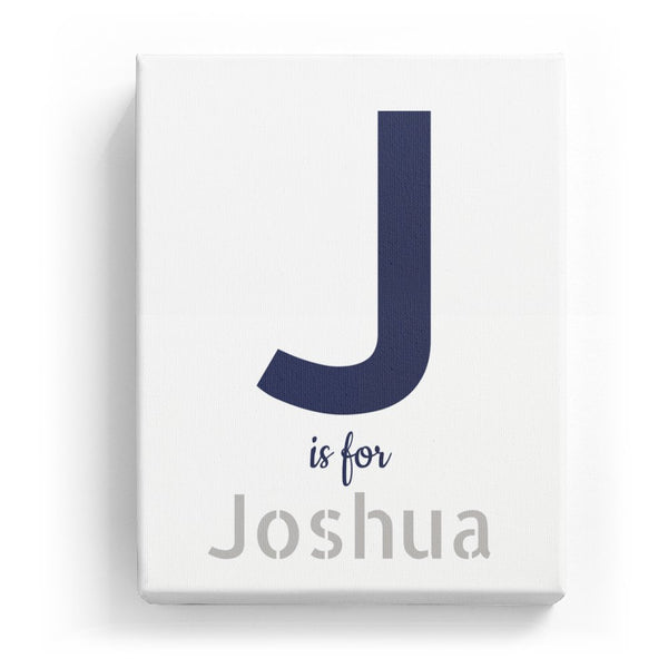 J is for Joshua - Stylistic