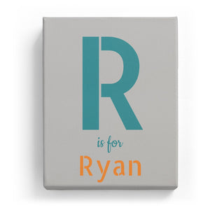 R is for Ryan - Stylistic