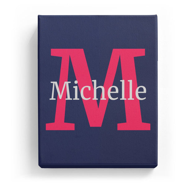 Michelle Overlaid on M - Classic